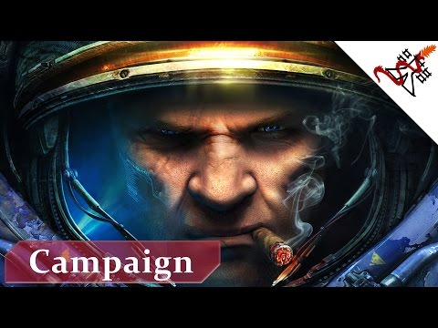 Starcraft 2 Wings of Liberty - Mission Zero Hour [BRUTAL/EN/1080p]