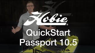 QuickStart for Hobie Mirage Passport kayak