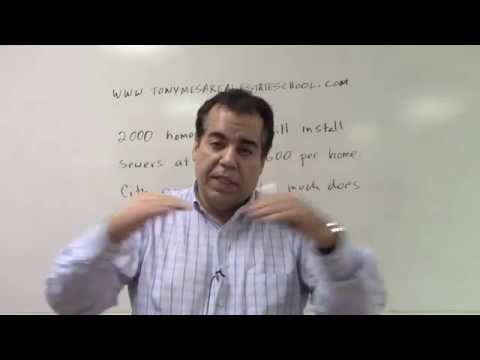 Florida Real Estate Exam Prep Math 18 Special Assessment Sewers