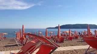 Лето 2015 в Черногории началось!(пляж и кафе в Бечичи -