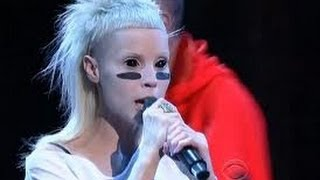Repeat youtube video Die Antwoord   I Fink U Freeky Letterman  2012 HD