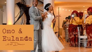 Best Wedding Dance!  (Omo & Eulanda dance Swing, Salsa, & Nigerian)