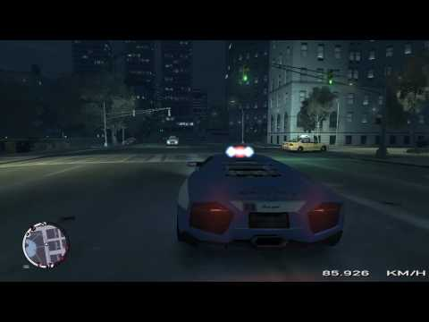 Gta Episodes From Liberty City Police Lamborghini Youtube