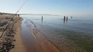 Видео отчёт о сегодняшнем море в Витязево 8.09.2016 7.40 утра
