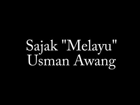 Sajak Melayu Oleh Usman Awang Youtube