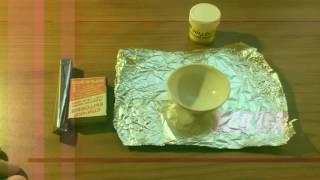 Как сделать маленький вулкан в домашних условиях