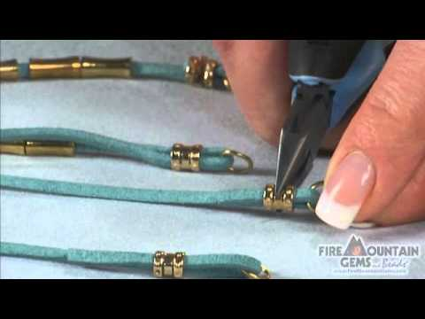 Using Crimp Tubes With Cording Youtube