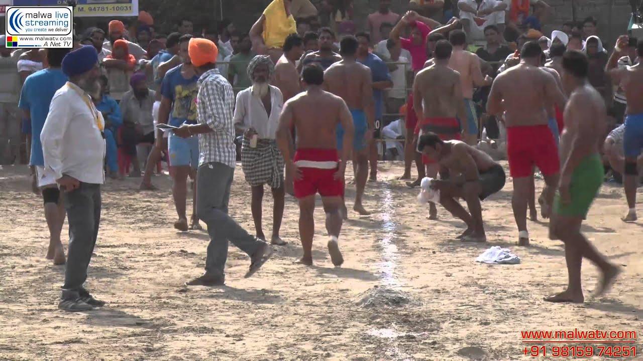 SANTUWALA (Zira) Kabaddi Tournament (HD). Aug - 2014. Part 2nd.
