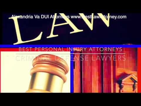 Best DUI Lawyers & Attorneys Alexandria Va Online Law Video SEO Marketing