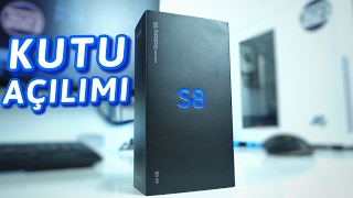 Samsung Galaxy S8 Kutu Açılımı