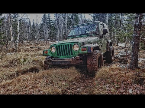 SPRING WHEELING - TWO JEEP TJ'S