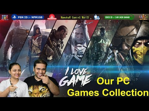 Our PC Games Collection | Play With 4k Resolution : RTX 2080Ti Nvidia | NamokaR GaminG WorlD / #NGW