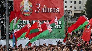 Военный парад, посвященный Дню Независимости Республики Беларусь - 2017.  HD-видео.  720P