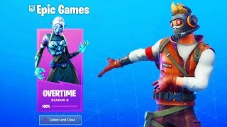 *NEW* ALL OVERTIME CHALLENGE FREE REWARDS! (Fortnite Free Rewards)