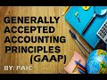 Generally Accepted Accounting Principles (GAAP) BCOM 1