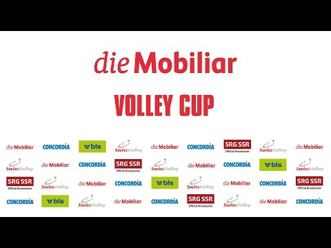 Mobiliar Volley Cup: Auslosung 1/8 Final 2017/2018
