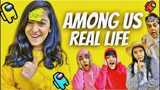 PLAYING AMONG US IN REAL LIFE WITH MY FAMILY PART 2 | Rimorav Vlogs
