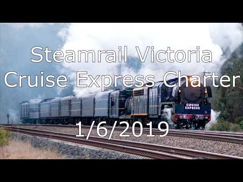 Steamrail Victoria Cruise Express Charter 1/6/2019