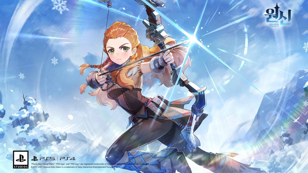 PS5, PS4|원신 에일로이 캐릭터 예고 — 이세계의 구세주 (한글 자막)