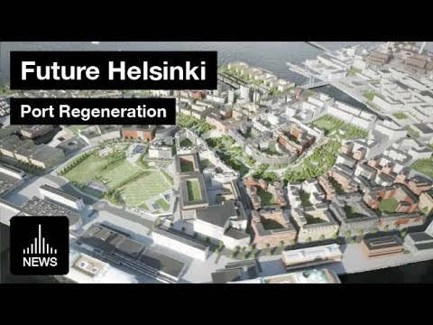 Future Helsinki - City Port Regeneration