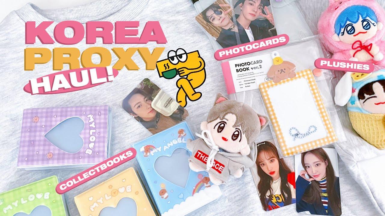 Korea Proxy Haul: Photocards, Plush Dolls, 7Dream Cafe MD, Collectbooks ☆ NCT, THE BOYZ, WEEEKLY