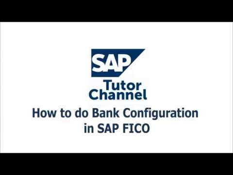 How to do Bank Configuration in SAP FICO