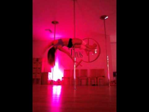 Pole Dance Freestyle to Bad Things by Meiko