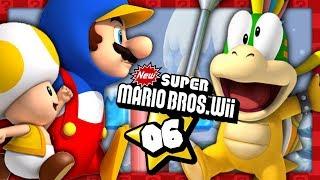 NEW SUPER MARIO BROS WII #06 EN DUO ! TOAD ET MARIO PINGOUIN SURFENT SUR LA GLACE !