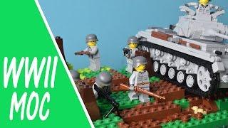 Lego Ww2 Battle Of Minsk // Lego Stop Motion Animation