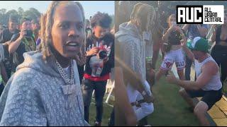 Lil Durk Confused After Dude Starts Twerking For Him At Summer Smash Concert