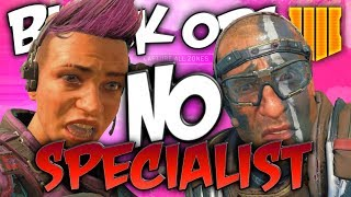 No Specialist Playlist Coming To Black Ops 4 Multiplayer!