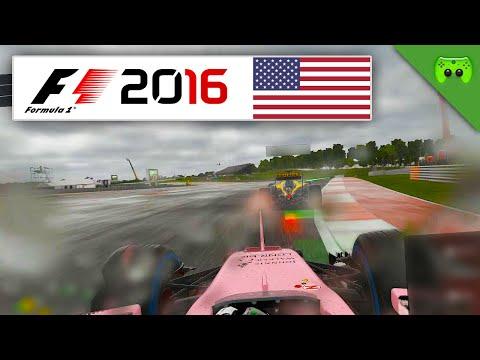 Der Himmel weint   USA 1/2 🎮 F1 2016 #91