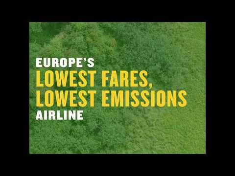 Europe's lowest fares, lowest emissions airlines