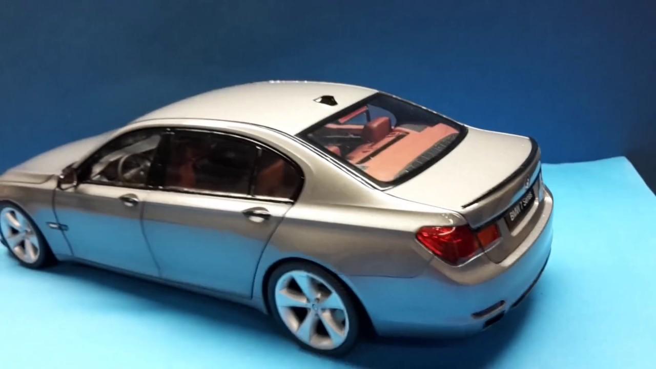 Bmw 1:18 F02 750li space grey- Custom made by BmwDiecastTuning ...