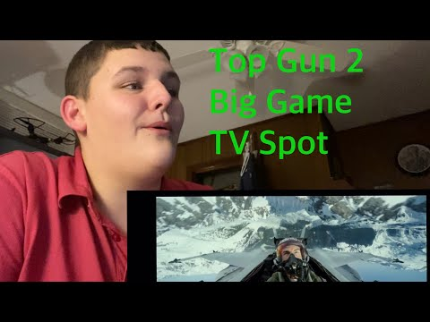 Top Gun 2 Big Game TV Spot Reaction and Review!