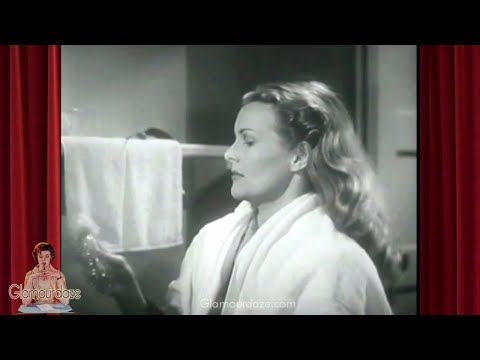 Vintage 1940's Makeup Beauty And Hair Tutorial | 1943 Film