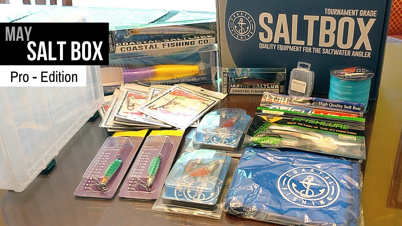 The Ultimate Salt Water Fishing Subscription Box - Coastal