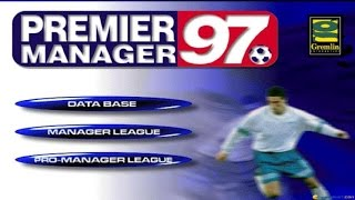 Premier Manager 97 gameplay (PC Game, 1997)