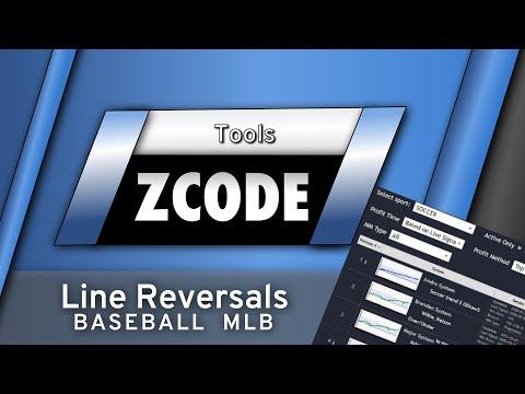 Zcode Line Reversals Tool for MLB