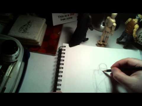 Drawing Superman - ASMR - Softly Spoken