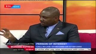 Person of Interest, The Ombudsman - Dr. Otiende Amollo, September 8th, 2015