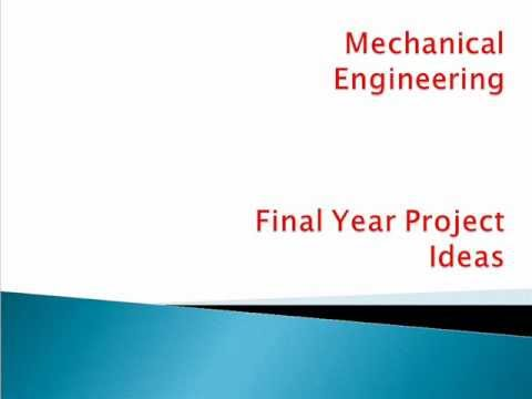 engineering final year project thesis