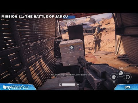 Star Wars Battlefront 2 - Mission 11: The Battle of Jakku All Hidden Item Collectible Locations