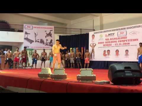 Mr.bangalore fitness model by Eimran khann