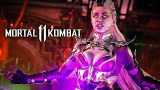 Mortal Kombat 11 - Sindel Official Gameplay Reveal and Moves Breakdown