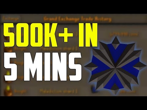 OSRS - How I Made 500K+ In 5 Minutes! Oldschool Runescape Money Making Guide