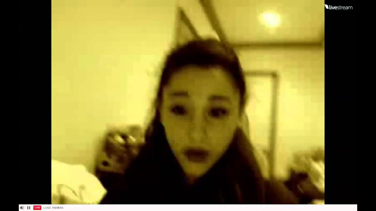 ariana grande 39 s room live stream recording youtube. Black Bedroom Furniture Sets. Home Design Ideas