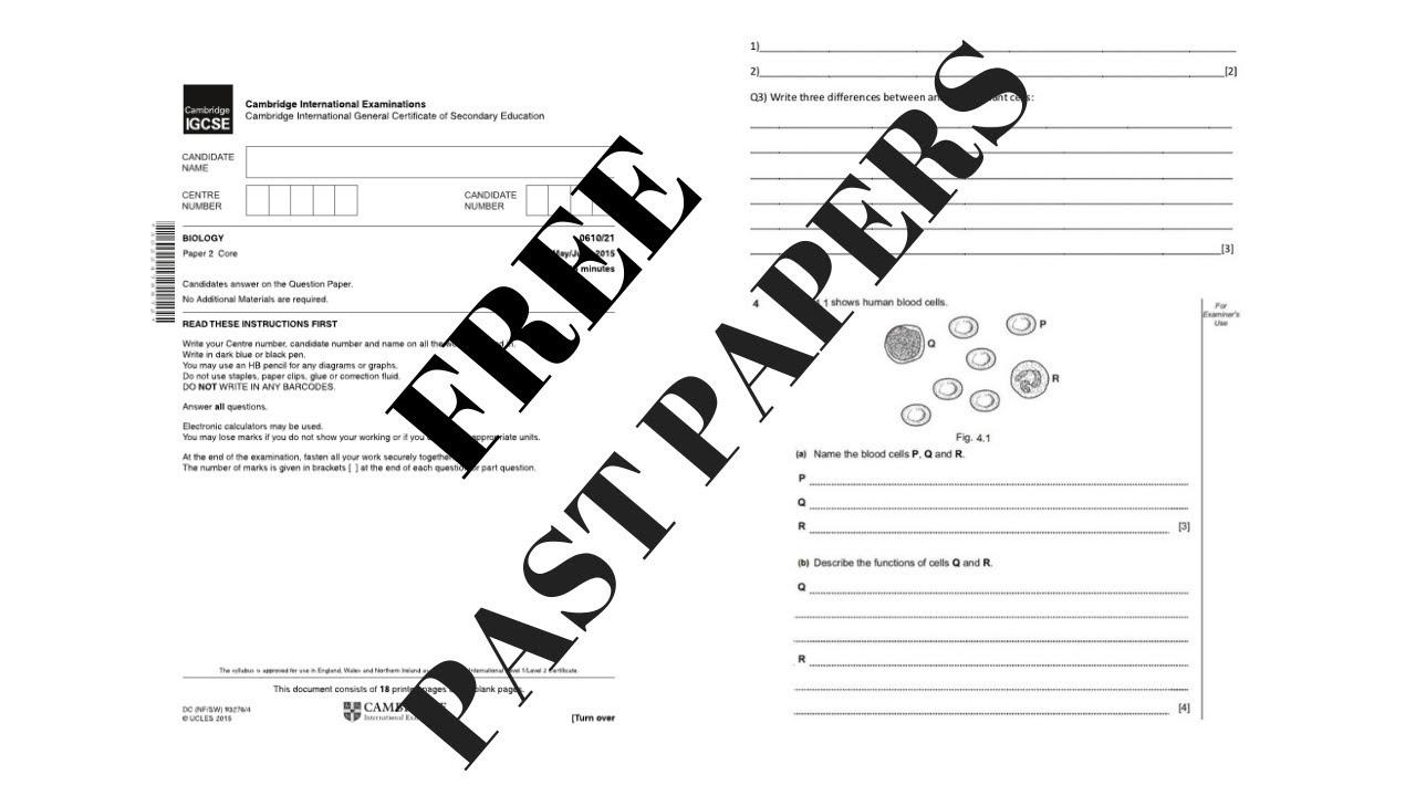 Free eBooks, CSEC / CAPE / GCE Past Paper, Study Guides