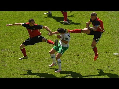 Comedy Fouls In Football
