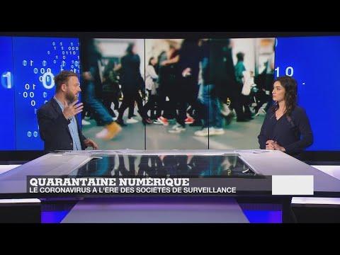Quarantaine numérique: le coronavirus à l'ère des sociétés de surveillance